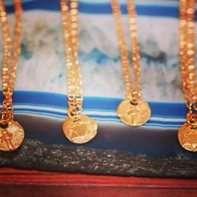 Last day to order Mother's Day gifts! Our solid gold Spiritual Collection with Organic Crosses, Star of David and Buddha charms make a perfect gift for moms! #mothersday #spiritual #gift #gold #showthelovejewelry