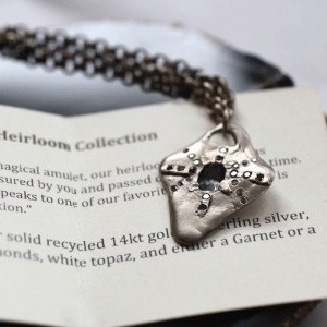 Heirloom Necklace Silver