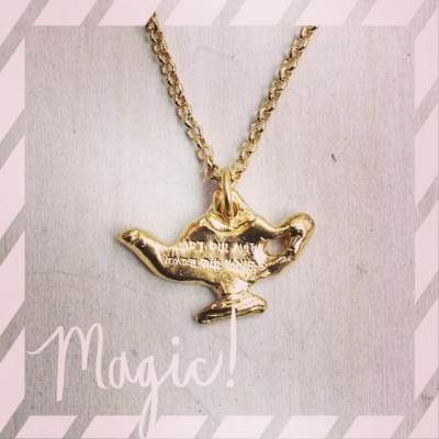 """""""Happiness is not having what you want, but wanting what you have."""" Inspiration Day 3 is our 'Magic Lantern' necklace, it is perfect to remind us during the holidays to be grateful for all the goodness in our lives! #showthelovejewelry #goodness inspiration #magic"""