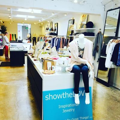Stop by #margaretoleary at town and country today for the #showthelove trunk show! Great #inspirationaljewelry and #mothersdaygifts !