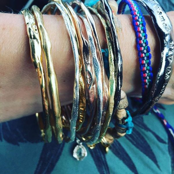 Bangles and beach! #girl power on the go! #strongwomen bangles #uncommongoods #shebelievedshecouldsoshedid #showthelovejewelry