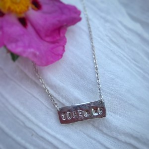 times up necklace