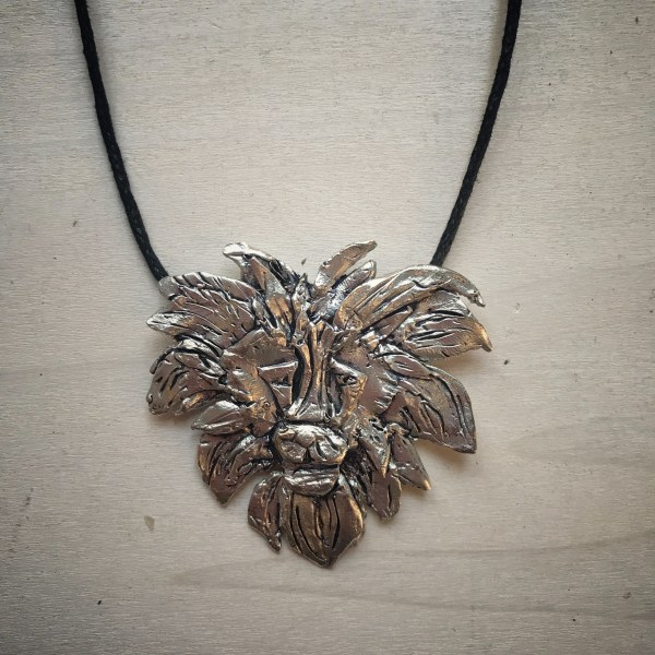 lion energy necklace