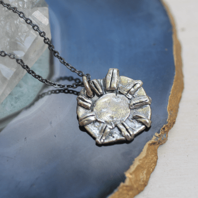 Invincible Silver Necklace