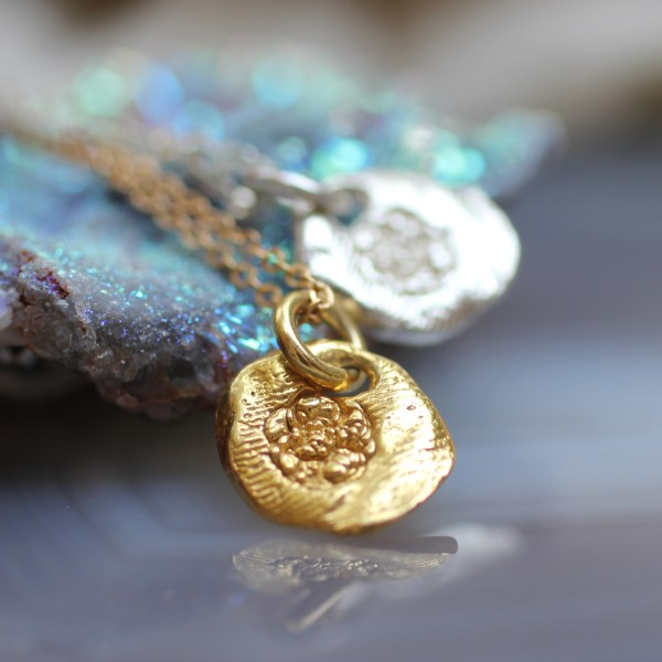 Flower of The Universe Necklace