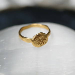 Flower of The Universe Ring