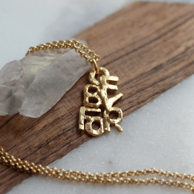 OfByFor Gold Necklace