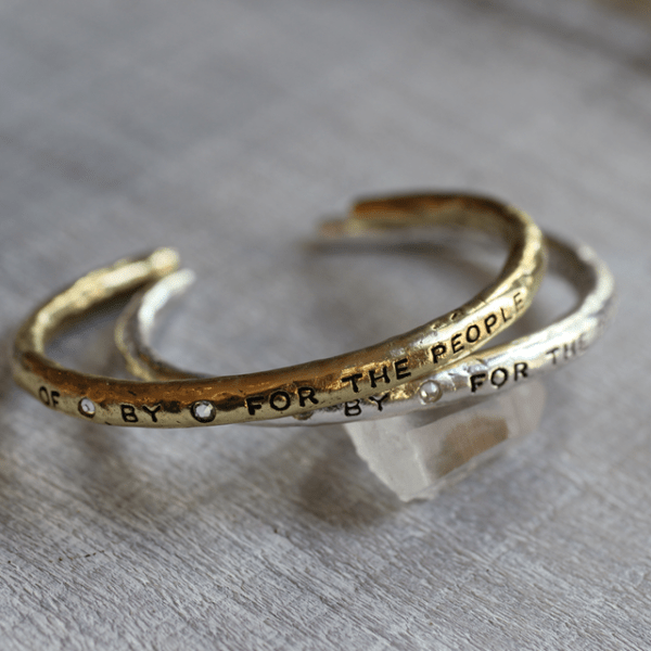 OfByFor the The People Bangle Cuffs