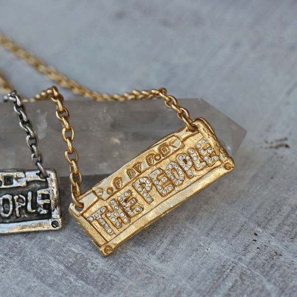 The People Hip Hop Necklace