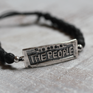 The People Lava Bead Bracelets
