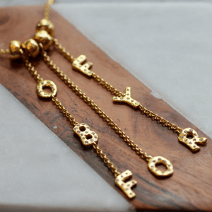 Of By For The People Statement Necklace