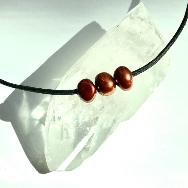 Kindness Pearls Choker Necklace