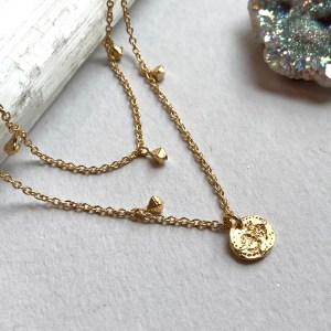 Om Dangle Necklace