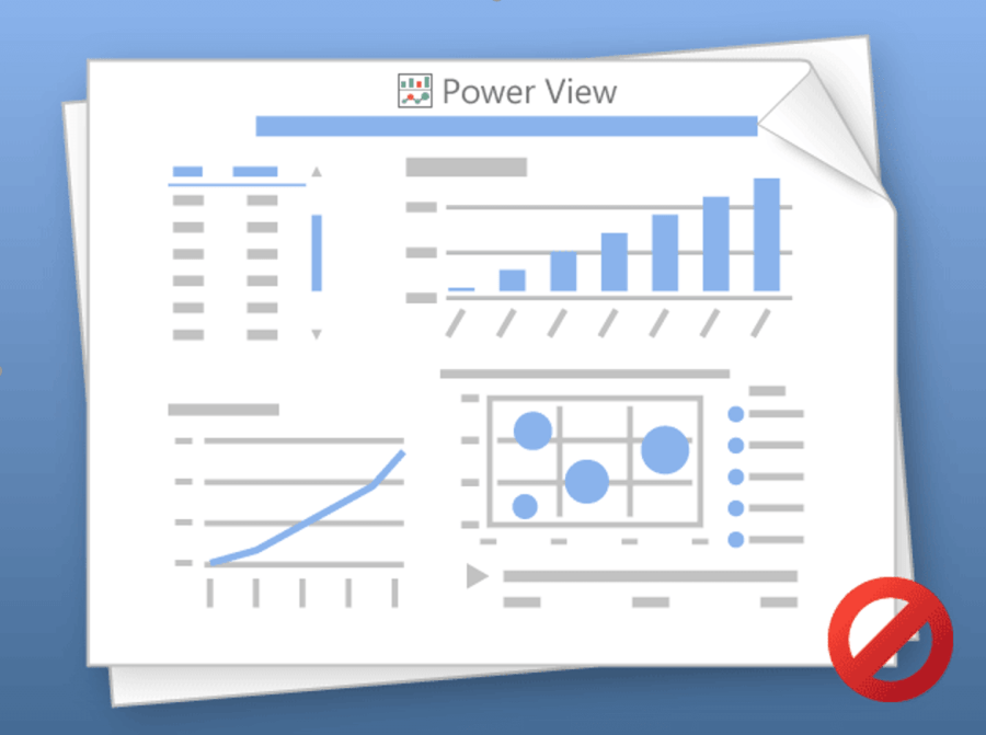 Excel Power View не працює