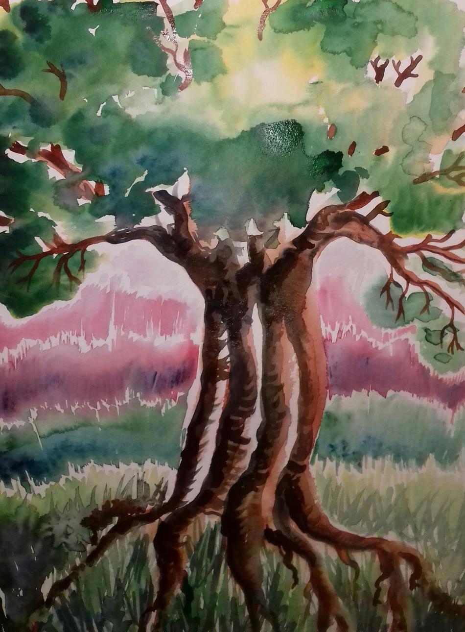 Kunstwerk Baum des Lebens von Mea Meike Dörschuck