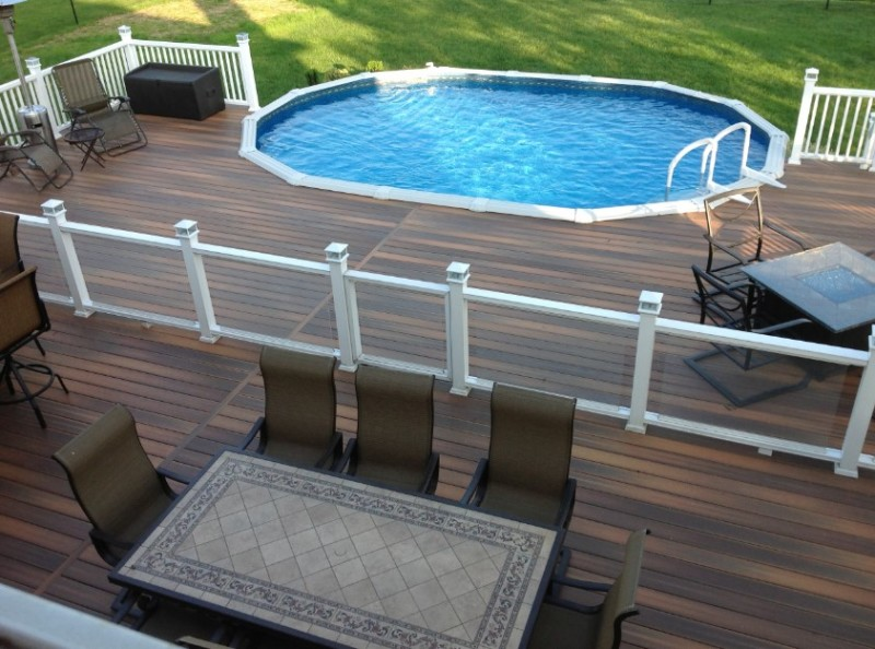 double adirondack chairs with umbrella hanging for bedroom 40 uniquely awesome above ground pools decks