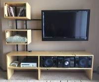 50+ Creative DIY TV Stand Ideas for Your Room Interior ...