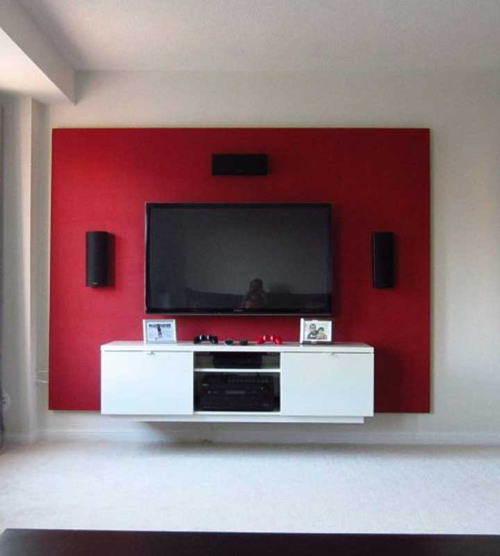DIY Floating Wall Project – Build Your Own Bachelor Pad TV Stand