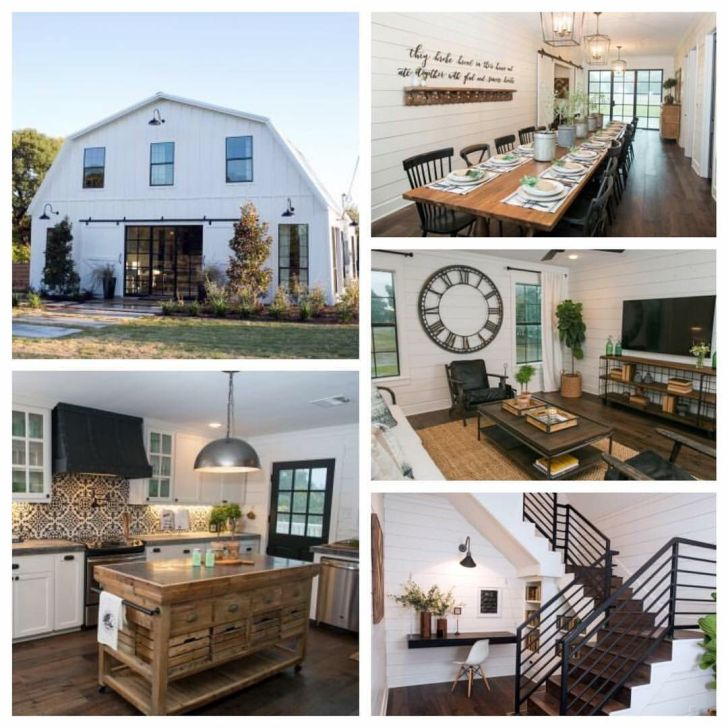 Barndominium design fixer upper