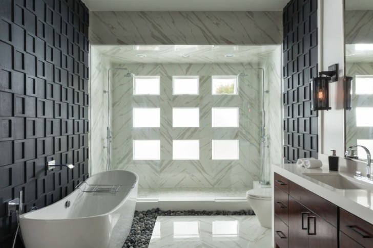 Beautiful Tiles Spa Bathroom Design