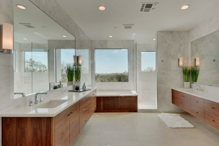Calm Spa Bathroom Design