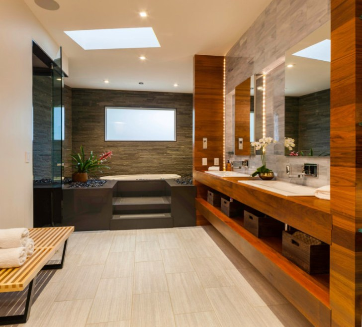 Contemporary Spa Bathroom Design