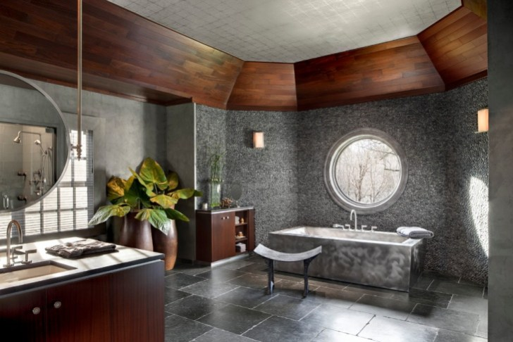 Custom Spa Bathroom Makeover Design