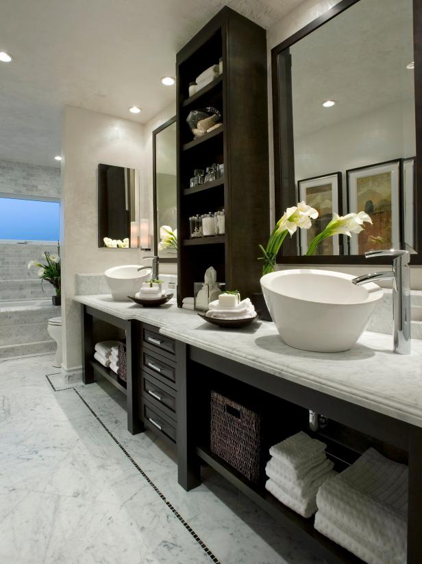 Perfect Combination spa bathroom