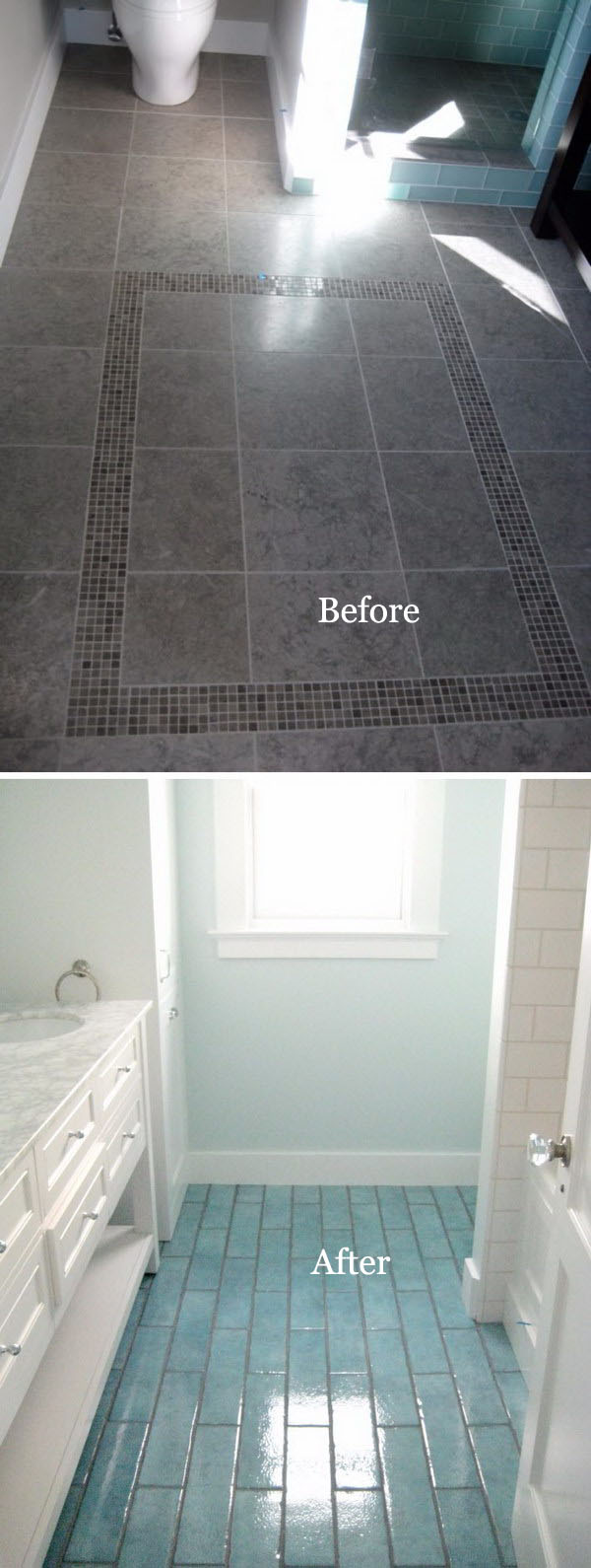33 Inspirational Small Bathroom Remodel Before and After - DIY ...
