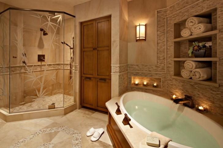 Soothing Spa Bathroom Design