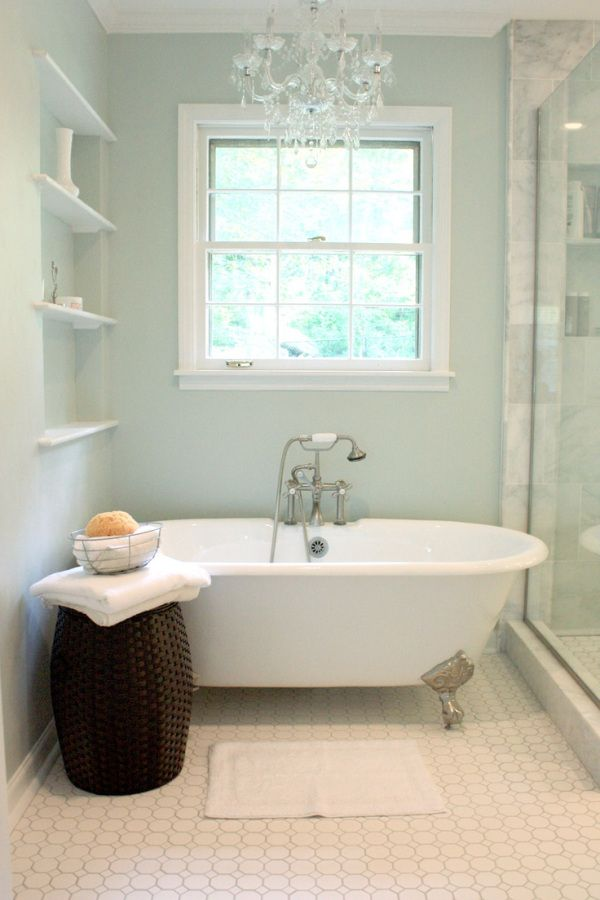 Spa Bathroom Color Schemes