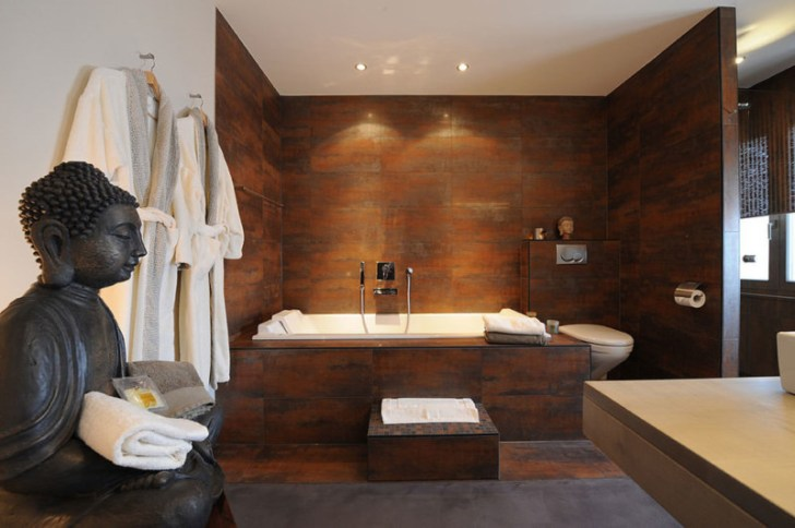 Tranquil Spa Bathroom Design