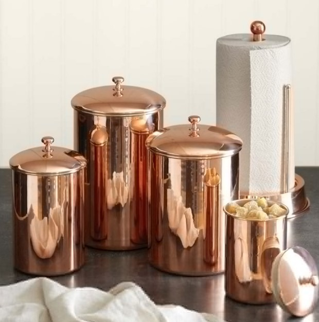 Best 15+ Copper Kitchen Canisters & Best 15+ Copper Kitchen Canisters - DIY Design u0026 Decor