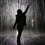 Visiting Rain Room at the MoMA