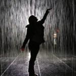 Visiting Rain Room at the MoMA