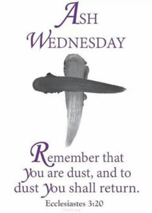 ash wednesday # 39