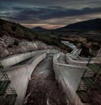 Dam run off Negratin