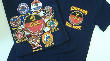 Chicago Fire Department Special Operations And Squad Companies