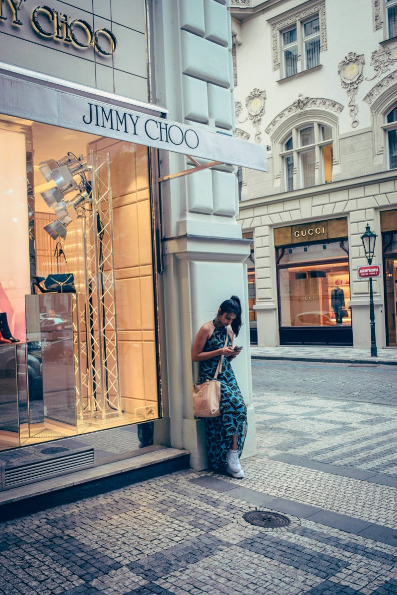 Prague Shopping Street