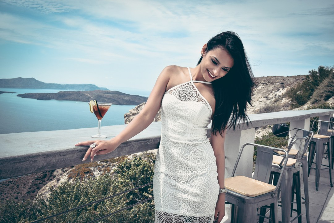 In My Happy Place : Santorini