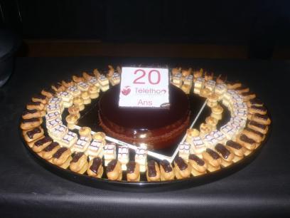 Shravaka, Telethon's 20 years – support event