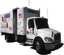 Shred-Bull-Orange-County-Shredding-Company-Truck