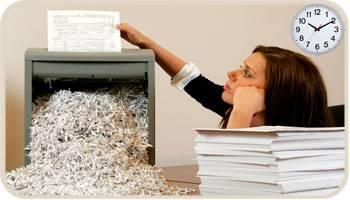 home shredding
