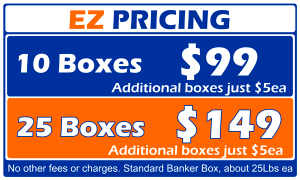 EZ Pricing - Up front pricing saves you time