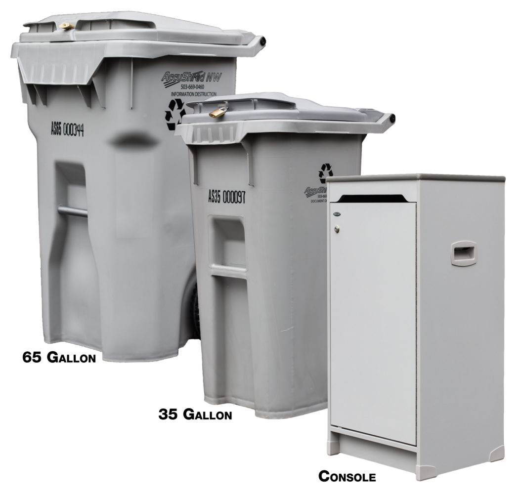 Ongoing Shredding Containers