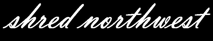 Shred Northwest Shredding Services Logo