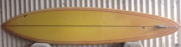 Dick Brewer for Inter-Island Single Fin 1969 7'417