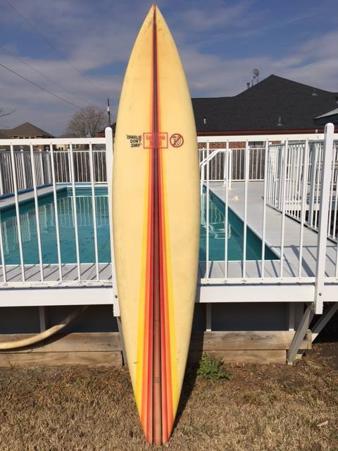 Surfboards Hawaii Mike Slingerland Single Fin 7'97
