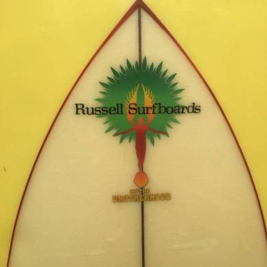 "Russell Surfboards The Brotherhood Twin Fin 1970s 5'10""4.jpg"
