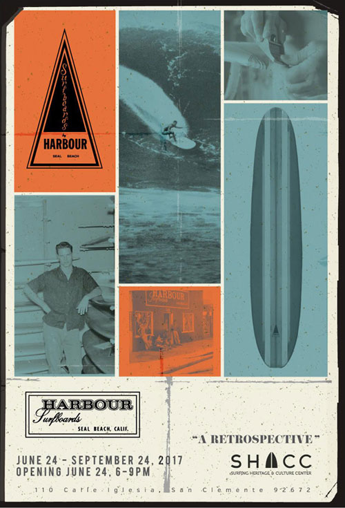 Surfing Heritage and Culture Center Rich Harbour Retrospective Poster